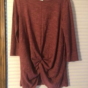Amelia James M BNWT Knotted Blouse